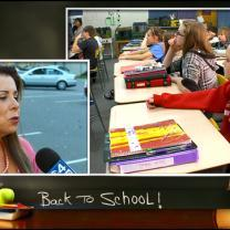 Busy 1st Day Of School For This Superintendent