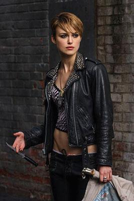 Keira Knightley in New Line Cinema's Domino