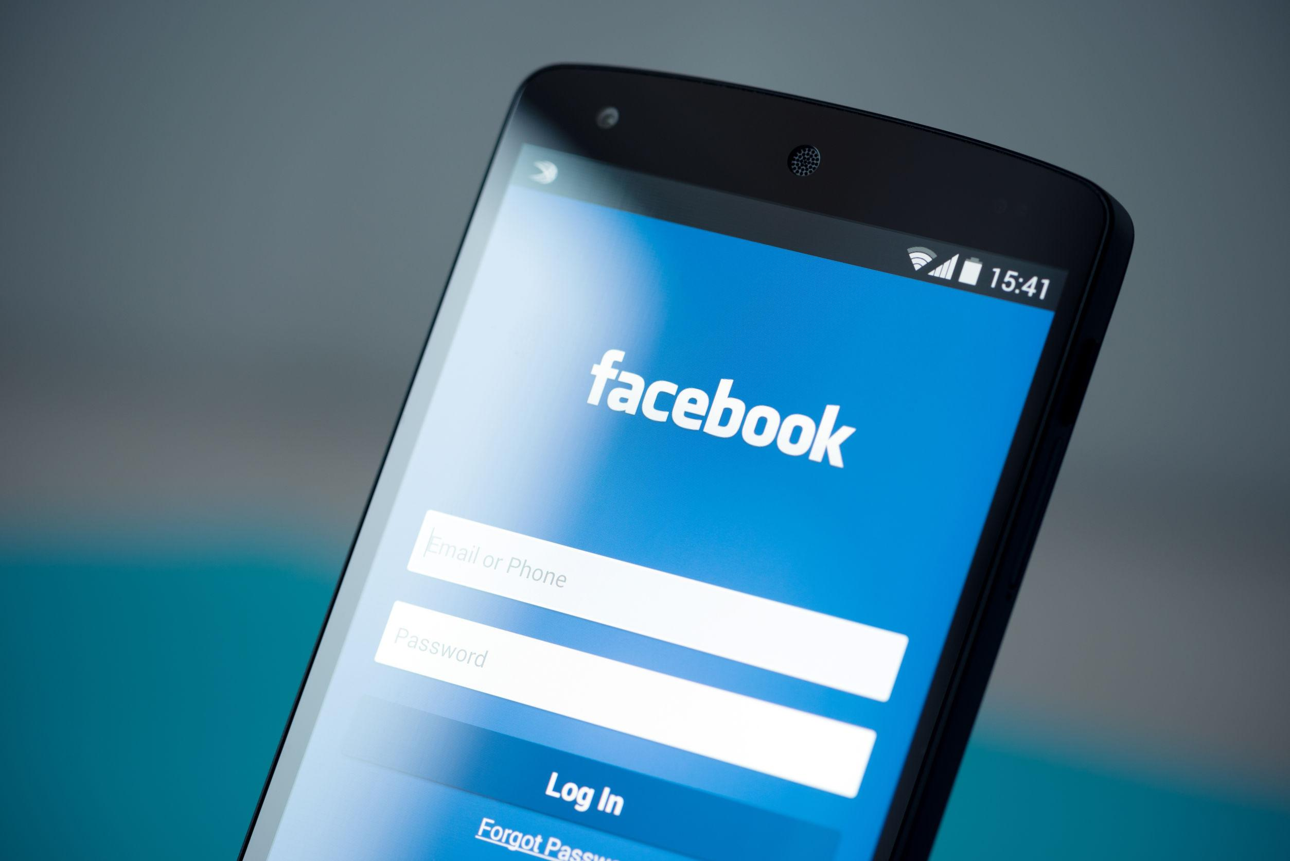 More than half of Facebook users now connect to the site with just a mobile phone