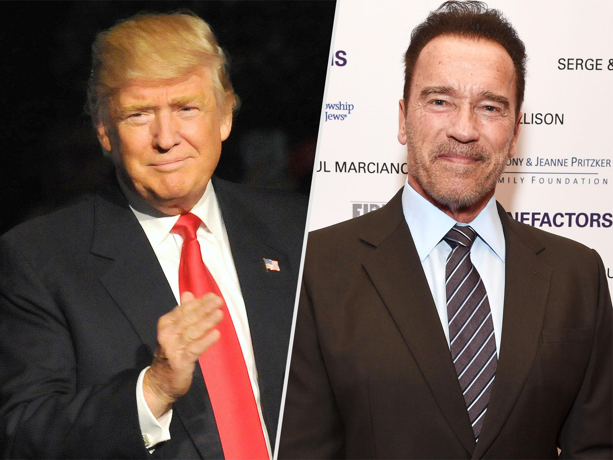 Arnold Schwarzenegger Reveals He May Hire Donald Trump as a Guest Advisor on Celebrity Apprentice