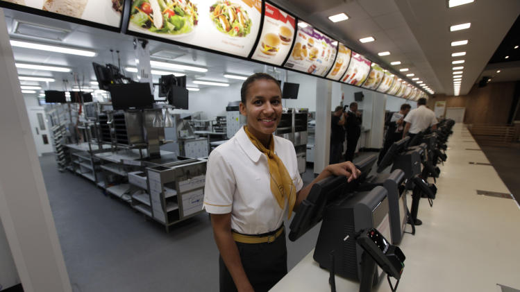 Biggest Mac: McDonald's at Olympics is the biggest