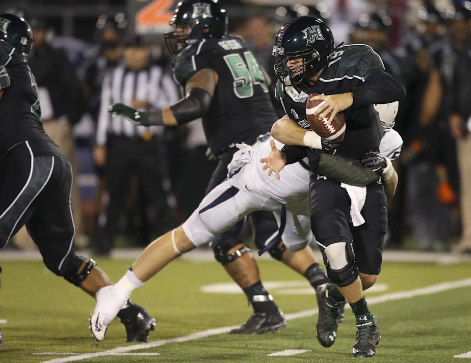 Stewart leads Nevada over Hawaii 31-9