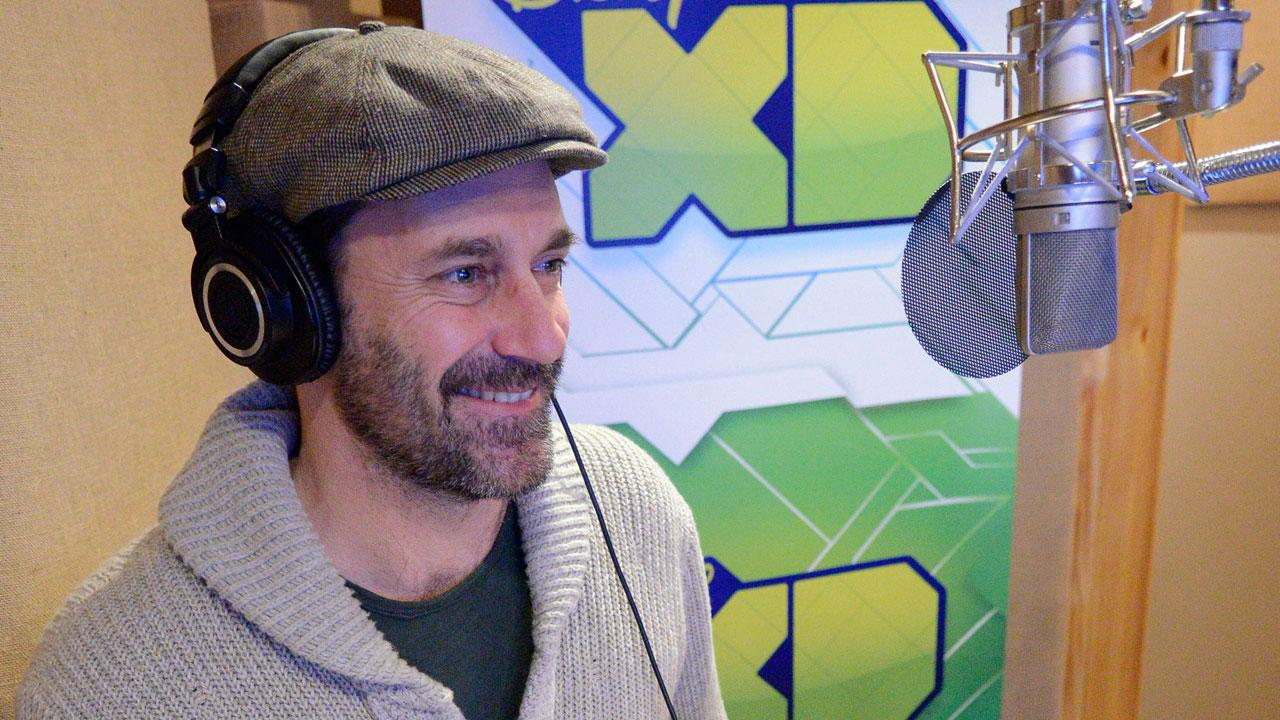 EXCLUSIVE: First Look at Jon Hamm Being Adorable While Lending His Voice to Disney XD's 'Wander Over Yonder'