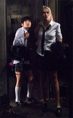 Misako Uno and Teresa Palmer in Columbia Pictures' The Grudge 2