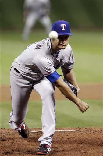 Yu Darvish loses perfect game with 2 outs in 9th