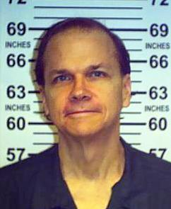 This June 1, 2013 photo provided by the New York State Department of Corrections shows Mark David Chapman at the Wende Correctional Facility in Alden, N.Y. Chapman, who killed John Lennon in 1980, was denied release from prison in his eighth appearance before a parole board, New York corrections officials said Friday, Aug. 22, 2012. Chapman shot Lennon in December 1980 outside the Manhattan apartment building where the former Beatle lived. He was sentenced in 1981 to 20 years to life in prison after pleading guilty to second-degree murder. (AP Photo/New York State Department of Corrections)