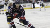 Blue Jackets' Wennberg done for night with possible concussion