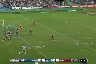 New South Wales scores incredible 50-meter try in the State of Origin
