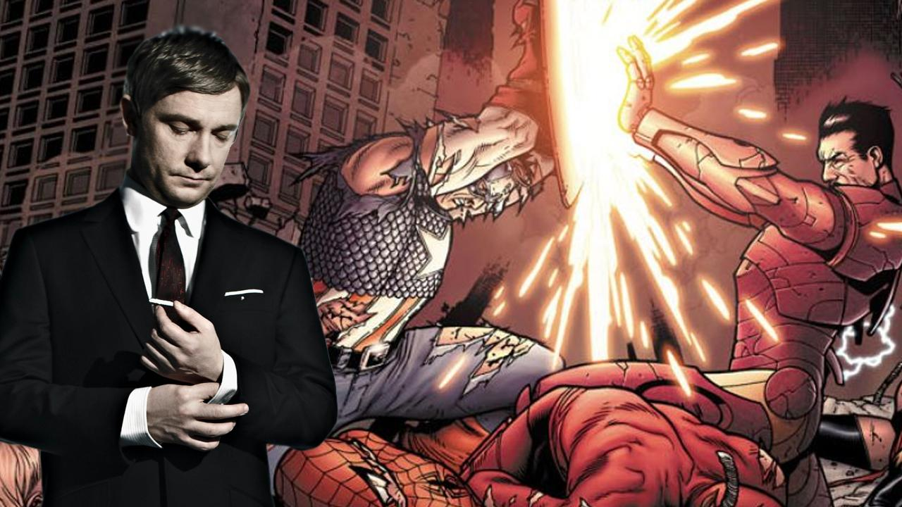 Marvel Casts Martin Freeman for Captain America: Civil War