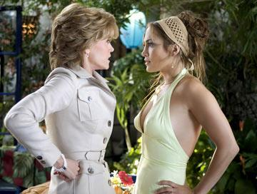 Jane Fonda and Jennifer Lopez in New Line Cinema's Monster-In-Law