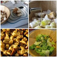 Homemade croutons 101...