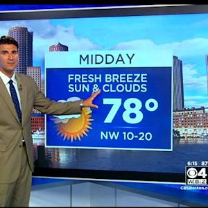 WBZ AccuWeather Evening Forecast For August 27
