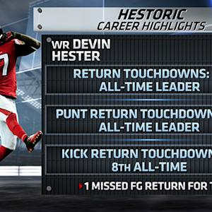TOPS: Is Devin Hester a Hall of Famer?