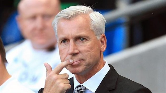 Alan Pardew hopes Newcastle can win their first league game of the season this weekend