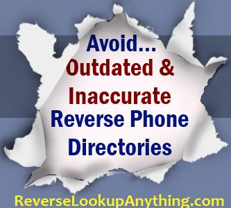 Best cell phone reverse directory