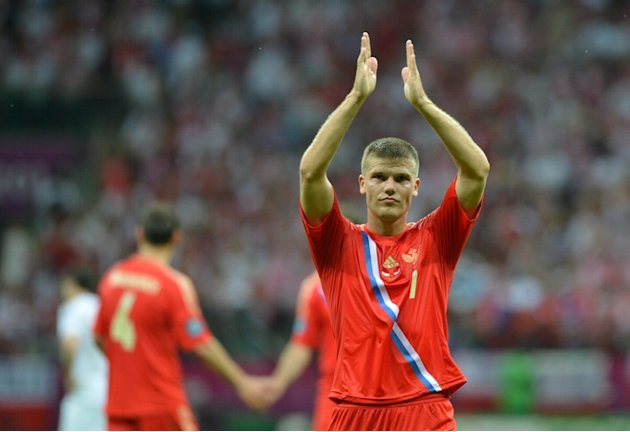 Russian Midfielder Igor Denisov …