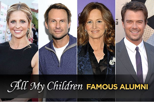 'All My Children' Famous  …
