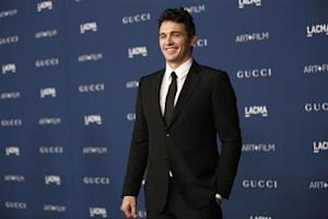 Franco poses at the Los Angeles County Museum of Art (LACMA) 2013 Art+Film Gala in Los Angeles