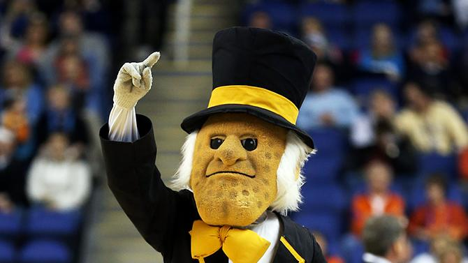 Demon Deacon, mascot of Wake Forest