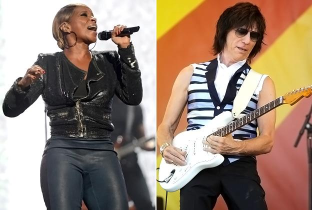 Mary J. Blige and Jeff Beck to Join Rolling Stones for Tour Kickoff