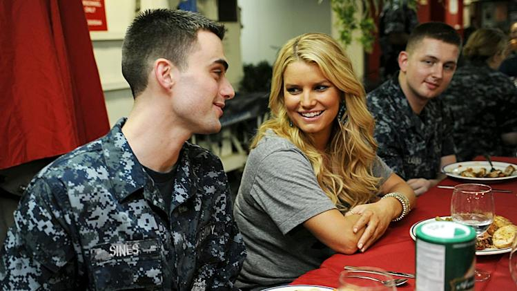 Jessica Simpson NAVY Seals