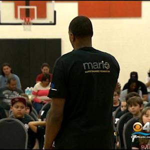 Miami Heat's Mario Chalmers Wants Kids To