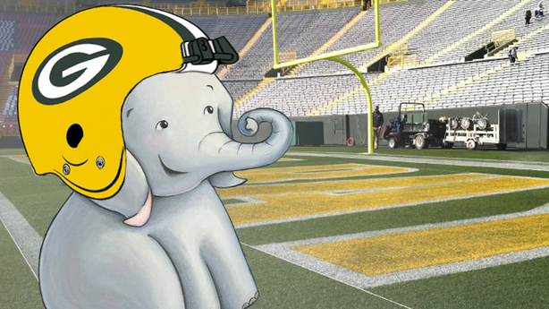 Newt Gingrich Uses Adorable Elephant to Sympathize with the Packers