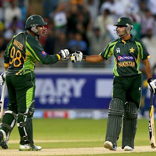 Pakistan beat Sri Lanka in first Twenty20