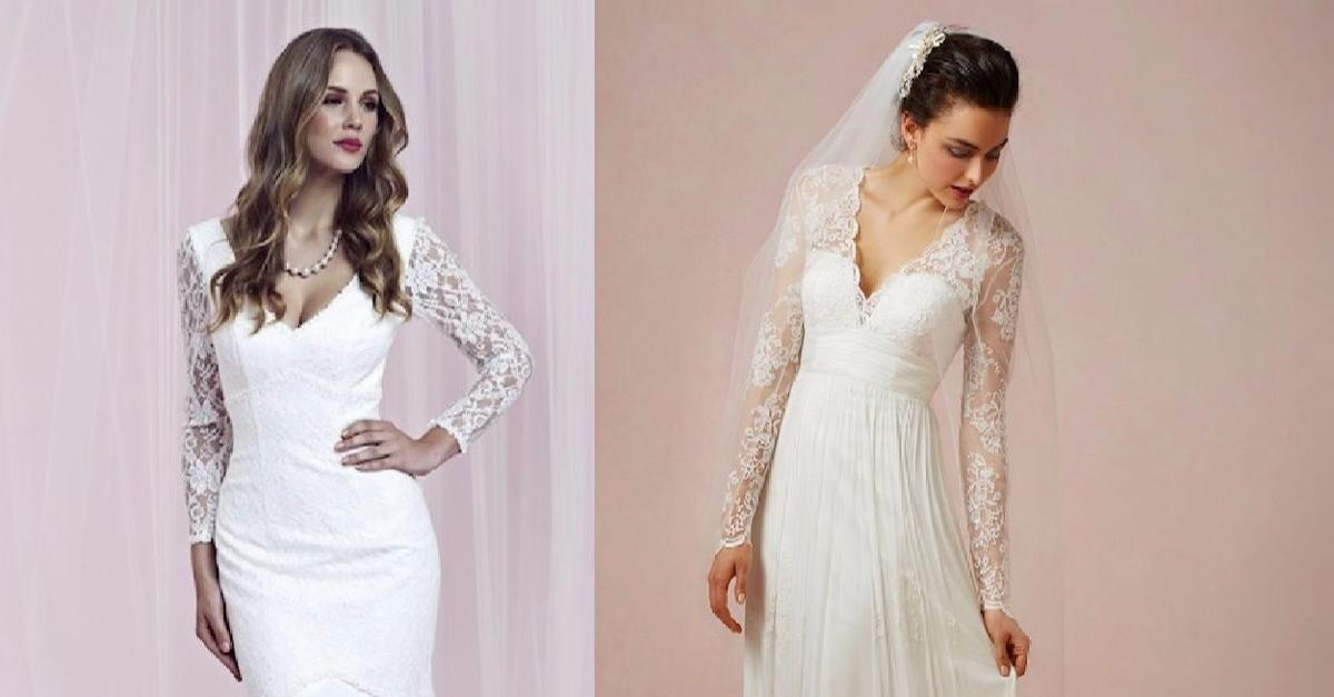 60 Lace Wedding Dresses You'll Melt Over