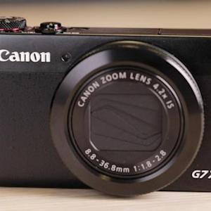 Canon joins the 1-inch club with the PowerShot G7X