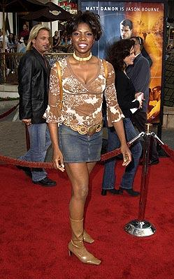Nicki Micheaux at the LA premiere of The Bourne Identity