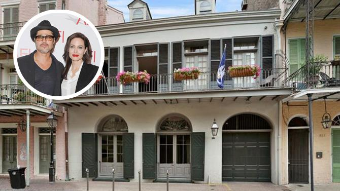 Brad Pitt and Angelina Jolie List New Orleans Mansion