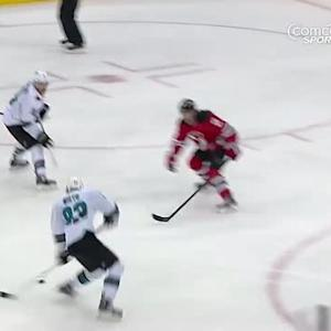 Matt Nieto buries one up high on Schneider