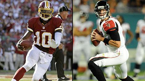 Robert Griffin III and Matt Ryan