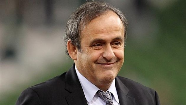 Michel Platini was elected as UEFA president in 2007