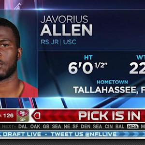 Baltimore Ravens pick running back Javorius Allen No. 125 in 2015 NFL Draft