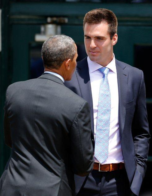 President Barack Obama Confuses James Franco With Joe Flacco