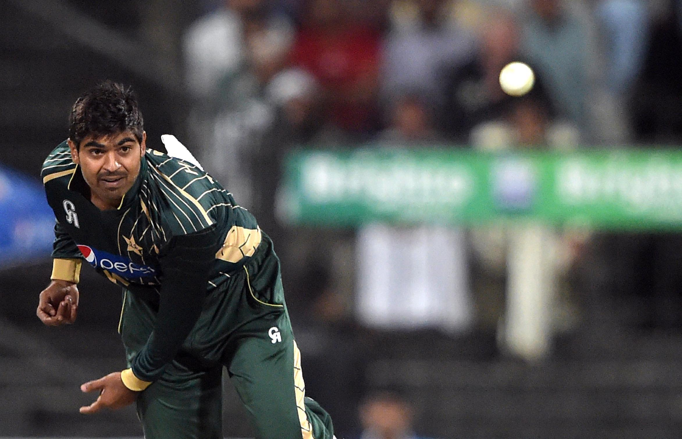Pakistan cricket player hit for six by ghost sighting