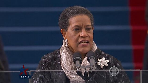 Myrlie Evers-Williams gives …