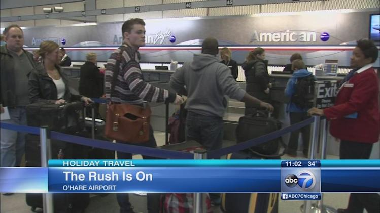 Busiest days at O'Hare, Midway airports; Winter storms may snarl holiday travel