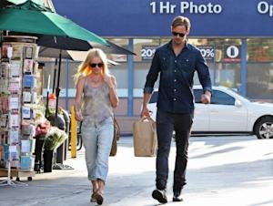 Kate Bosworth and Alexander Skarsgard spend a day out shopping at Bristol Farms in West Hollywood, Calif., on July 11, 2010 -- Getty Premium