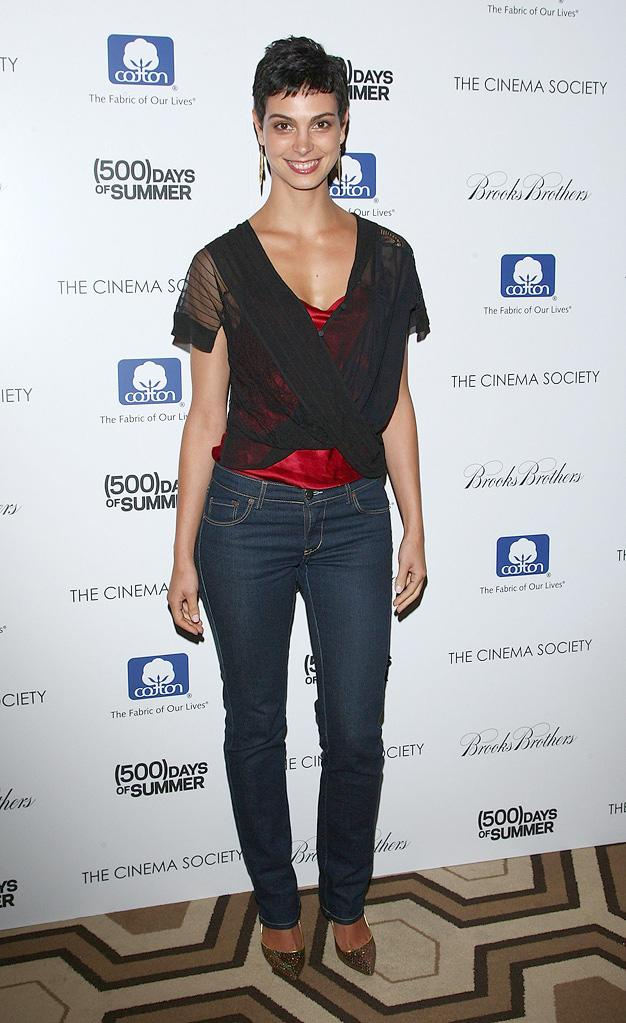 500 days of summer NY Screening 2009 Morena Baccarin