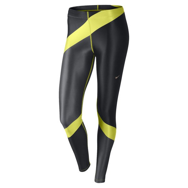 Black and Neon Engineered Print Leggings - £50 - Nike