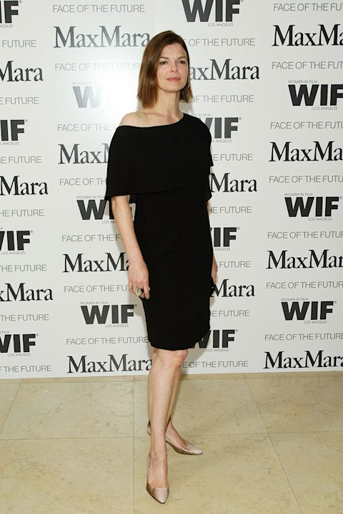 Jeanne Tripplehorn arrives as actress Elizabeth Banks is honored as Women In Film, MaxMara &quot;Face of the Future&quot; 2009 during a Cocktail Party at The Sunset Tower Hotel on April 29, 2009 in West Hollywo