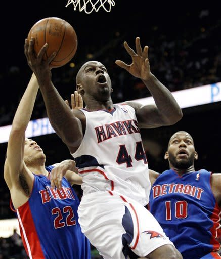 Teague, Smith pace Hawks' win over Detroit