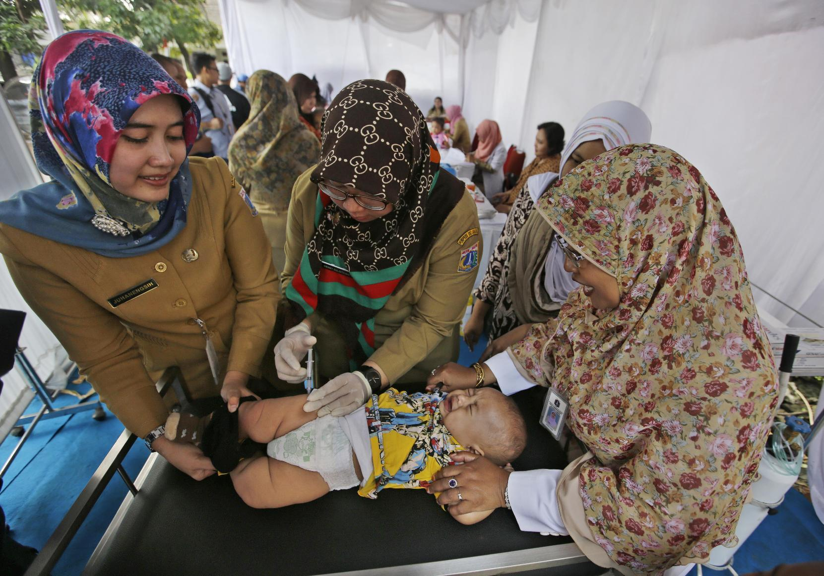Vaccine scandal highlights Indonesian health system woes
