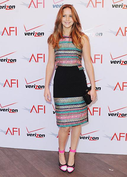 Attending the 2012 AFI Awards Luncheon in January 2013