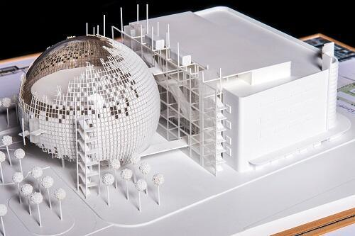Academy Museum Model Unveiled: Photos