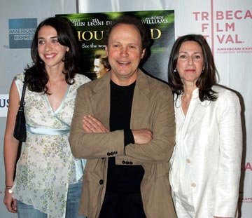 Billy Crystal and family