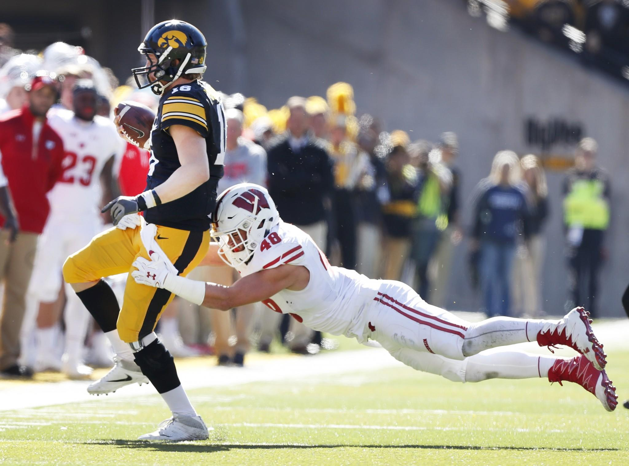 Wisconsin leading tackler Jack Cichy out for season